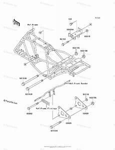 Kawasaki Atv 2004 Oem Parts Diagram For Engine Mount