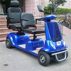 Scooter Electrique 2 Places : 4 roues 2 si ges de la mobilit lectrique triporteur pour personnes g es et handicap es 4 ~ Melissatoandfro.com Idées de Décoration