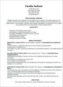 operation theatre technician resume format professional operating room registered resume templates to showcase your talent