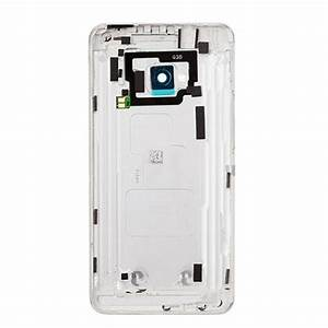 HTC One M7 Back Cover Replacement (Silver)