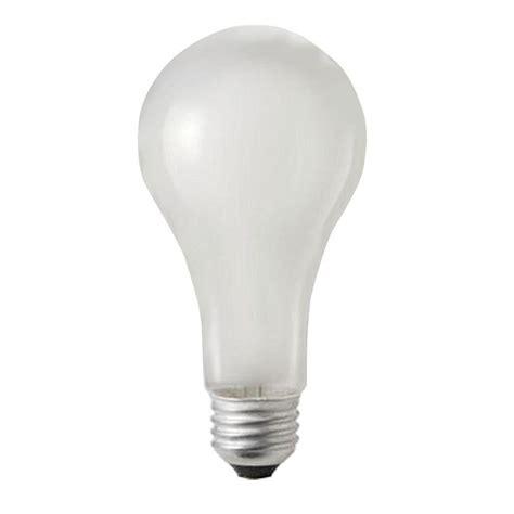 philips 100 watt incandescent a21 120 130 volt service frosted light bulb 60 pack 275693