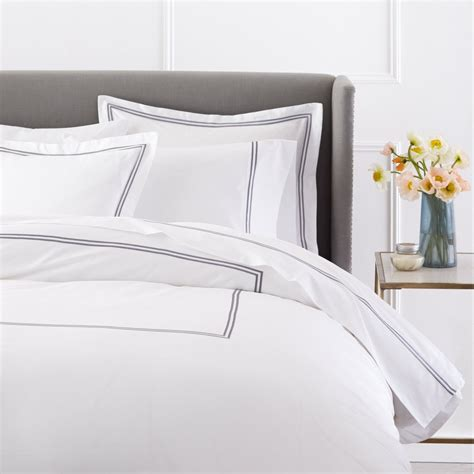 White Duvet Cover King by 9 Best Grey And White Duvet Cover Sets That Won T
