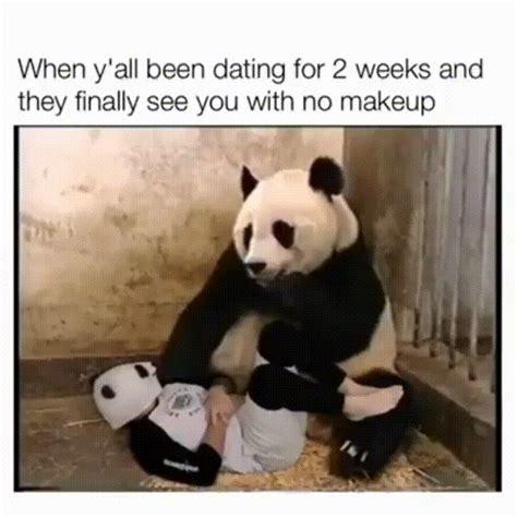 Panda Meme Mascara - panda without makeup meme fay blog
