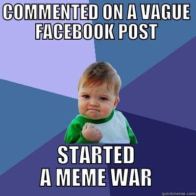 Facebook Post Meme - a catchy name quickmeme