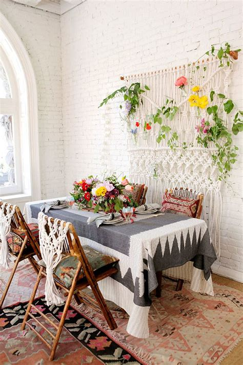 tropical colors for home interior 18 eclectic dining rooms with boho style