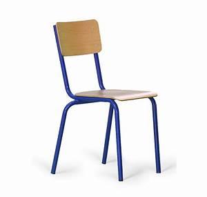 Chaise D école : chaise colier lucas chaise empilable chaise 4 pieds chaise scolaire hauteur fixe ~ Teatrodelosmanantiales.com Idées de Décoration