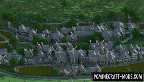 bree town map  minecraft   pc java mods