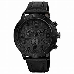 Citizen Unisex Chronograph Drive From Eco-drive Black ...
