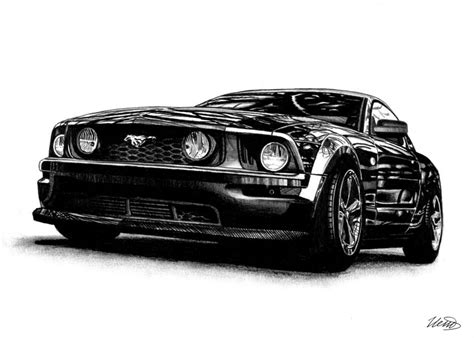 supercar drawing ford mustang gt drawing super car by ivanovsemyonrussia on