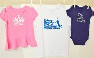 New Sibling Gift Idea - Big Sister Little Princess Shirt