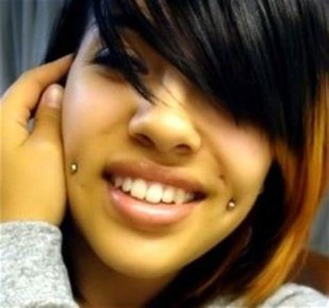 cheek piercing dimple piercing aftercare jewelry