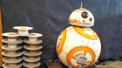 Designer Builds a Full-Size, 3D-Printed BB-8 | Mental Floss