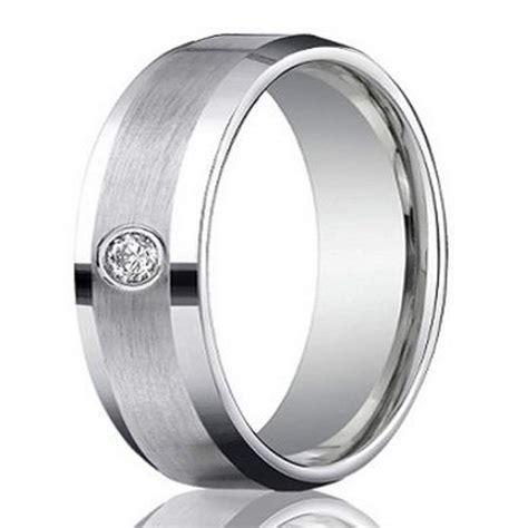 s 4mm palladium wedding ring with satin finish polished edges
