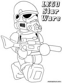 LEGO Star Wars Stormtrooper Coloring Pages