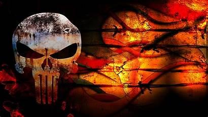 Punisher Skull Grunge Blank Wallpapers Background Wallpapersafari