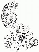 Coloring Cherry Blossom Blossoms Clip Kirsche Ausmalbilder Colouring Clipart Library Coloringhome sketch template
