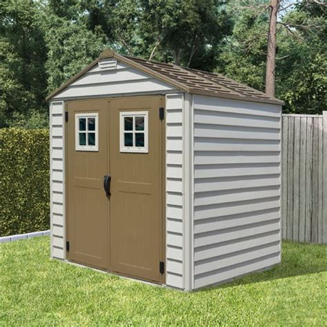 shed 7x7 7x7 billyoh storemax plastic garden storage shed including