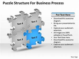 Business Context Diagrams Puzzle Structure For Process