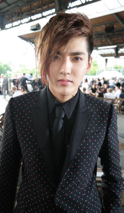 Kris Wu Joins Kris Jenner At Givenchy Show Idolwow