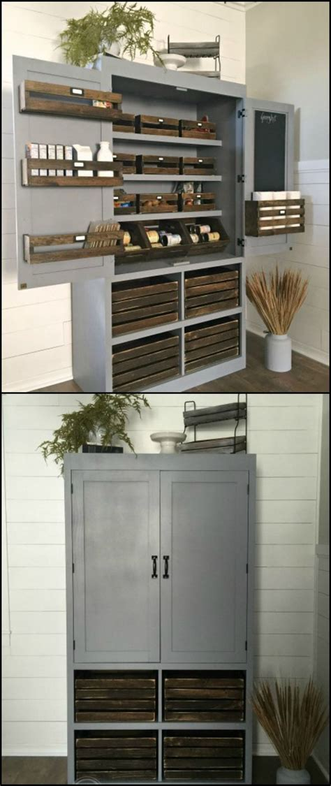 short kitchen pantry cabinet build a freestanding pantry small kitchens cabinets and