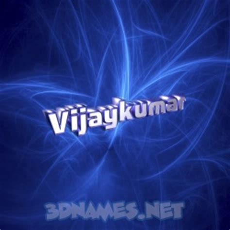 3d Name Wallpapers Vijay Search by 8 3d Name Wallpaper Images For The Name Of Vijaykumar