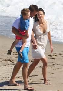 Jordana Brewster cradles adorable baby boy Julian | Daily ...