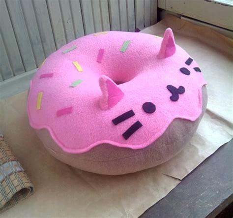 coussin chat cat donut coussin peluche livraison