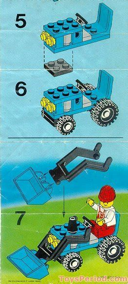 lego  tractor set parts inventory  instructions lego reference guide