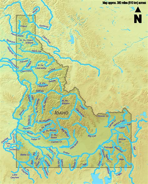 File:Idaho Rivers.png - Wikimedia Commons