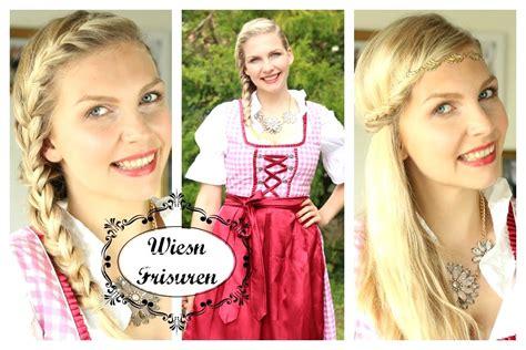 oktoberfest frisuren einfach einfache oktoberfest frisuren styling jessyinseptember