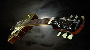 Amazing Music Gibson Les Paul Style HD Wallpaper Picture ...