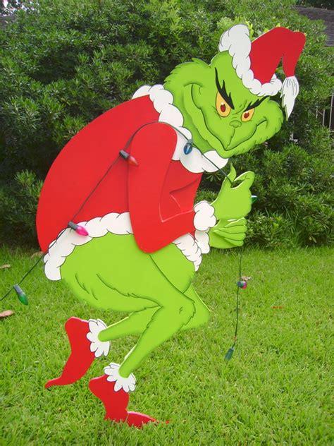 grinch   yard art yard art custom   order