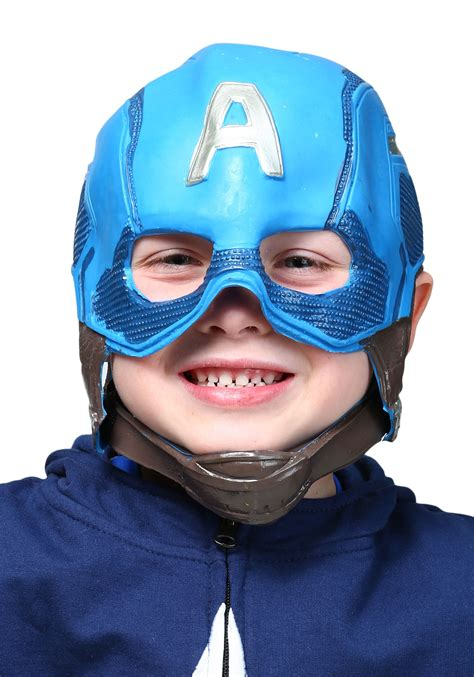 Outdoor Halloween Decorations 2017 by Child Captain America Avengers 2 Molded Mask