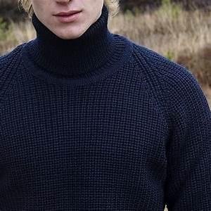 Pull Colle Roulé Homme : pull homme col roul irlandais pure laine vierge bleu ~ Melissatoandfro.com Idées de Décoration