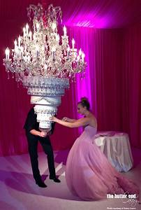 Kaley Cuoco's Upside Down Chandelier Cake - The Butter End ...