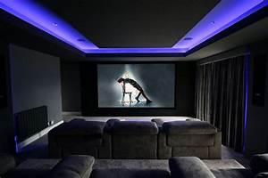 Projector Based Home Cinema Room  Hullbridge