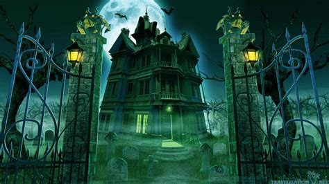 Haunted House Wallpaper Animated - free animated haunted house wallpaper 52dazhew gallery