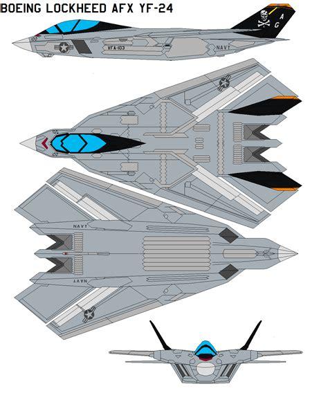 Boeing Lockheed Afx Yf-24 By Bagera3005 On Deviantart