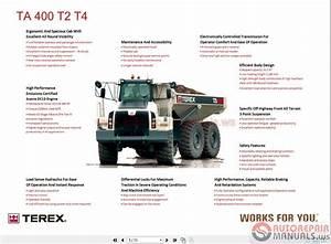 Terex Ta400 T2  U0026 T4 Training Manual