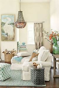 coastal living rooms Beach And Coastal Living Room Decor Ideas | ComfyDwelling.com