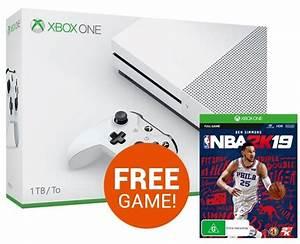 Xbox One S 1TB NBA 2K19 Console Bundle Xbox One On