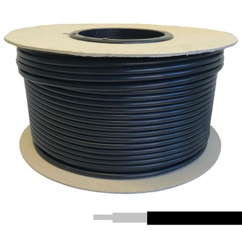 coaxial cable rg58 u low loss black 100m from co
