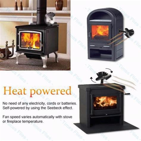 wood stove fans on top of stove heat powered wood fireplace stove fan for wood gas