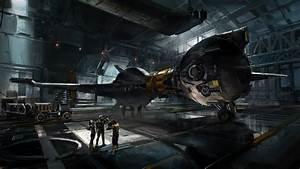 Hangar by medders on DeviantArt