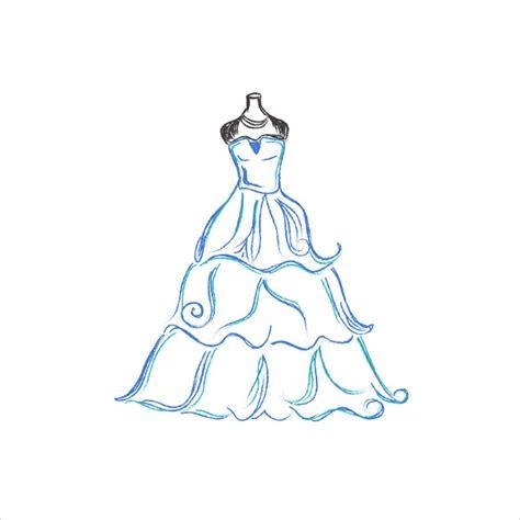 dress template wedding dress patterns 21 free eps ai illustration format free premium templates