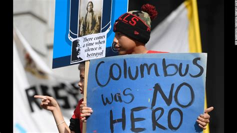columbus day support grows  indigenous peoples day