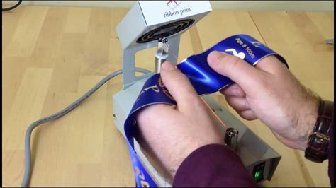 ribbon print heat cutter youtube