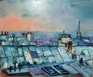 Peinture De Paris Poissy : f camp toits de paris nymph as peinture l 39 huile ~ Premium-room.com Idées de Décoration