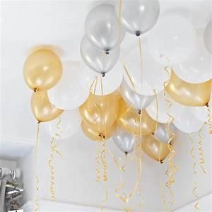 Deko Weiß Silber : deko ballons ceiling dekoration f r jede party ~ Sanjose-hotels-ca.com Haus und Dekorationen