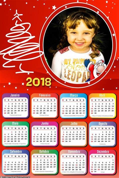calendario especial de natal montagem fotos